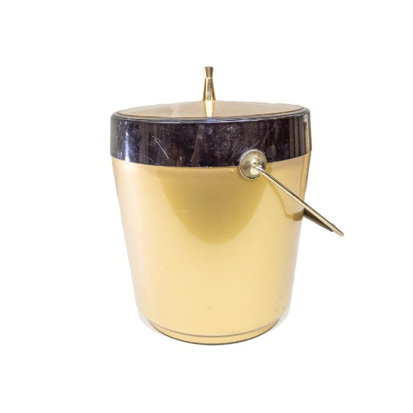 Gold and Black Ice Bucket