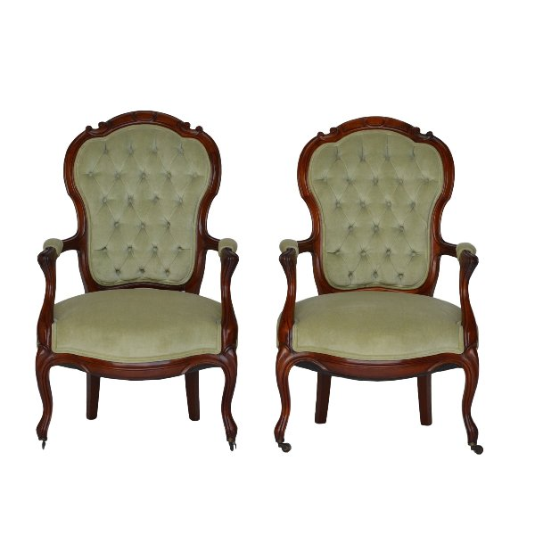 Leigh Mint Green Chairs