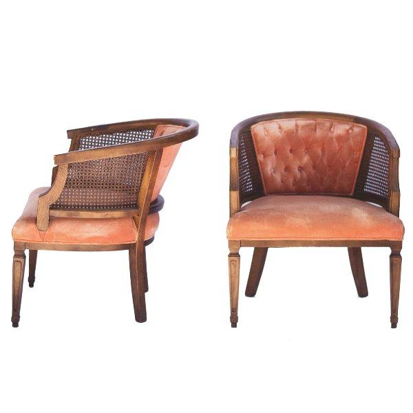 Ambrosia Barrel Back Chairs