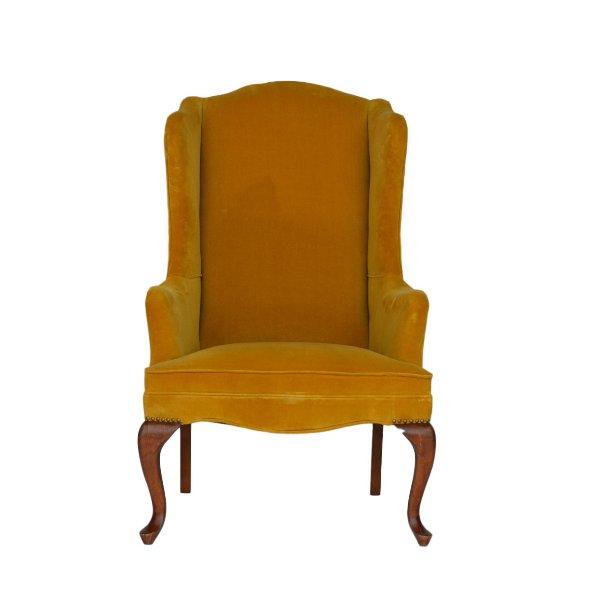 Ashton Mustard Chair