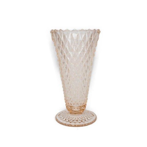 Pink Crystal Vase