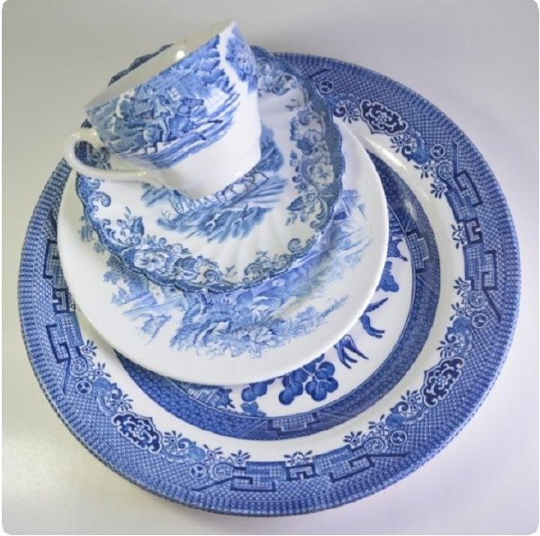 Blue and White Collection