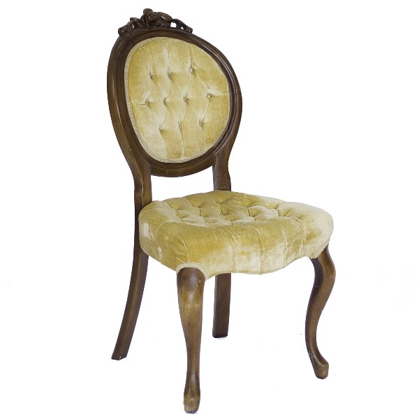 Hamilton Yellow Side Chair