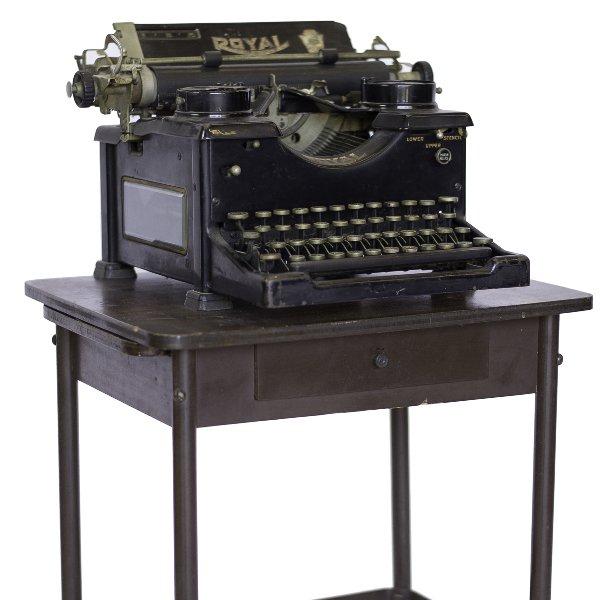 Black Royal Typewriter