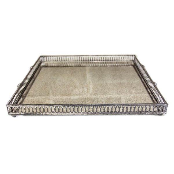 Square Mirrored Tray