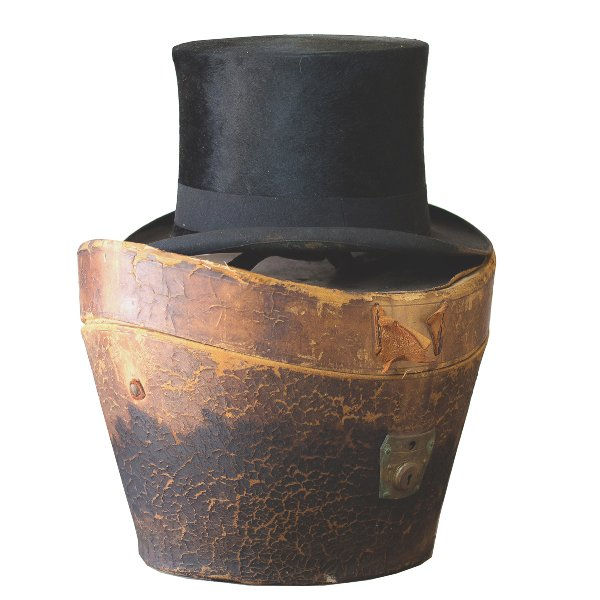 Victorian Top Hat and Box