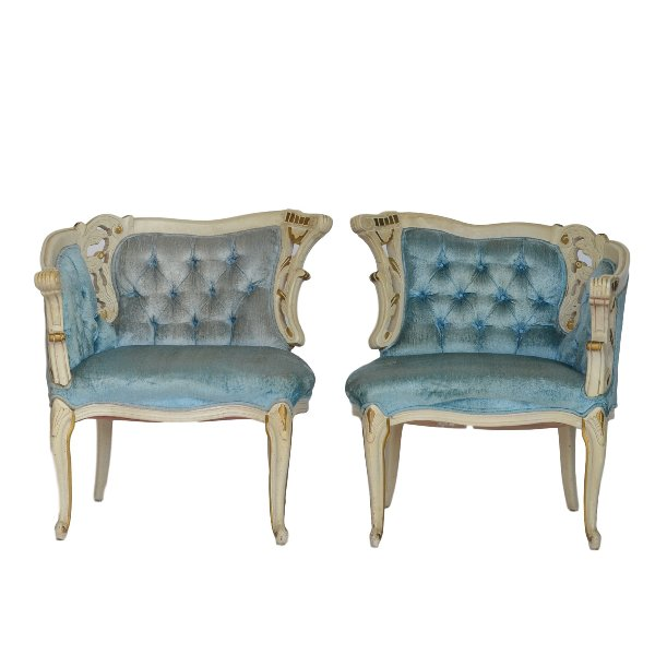 Marjorie French Chairs (Pair)