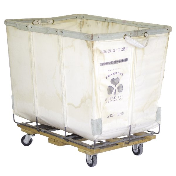 Shamrock Industrial Laundry Cart