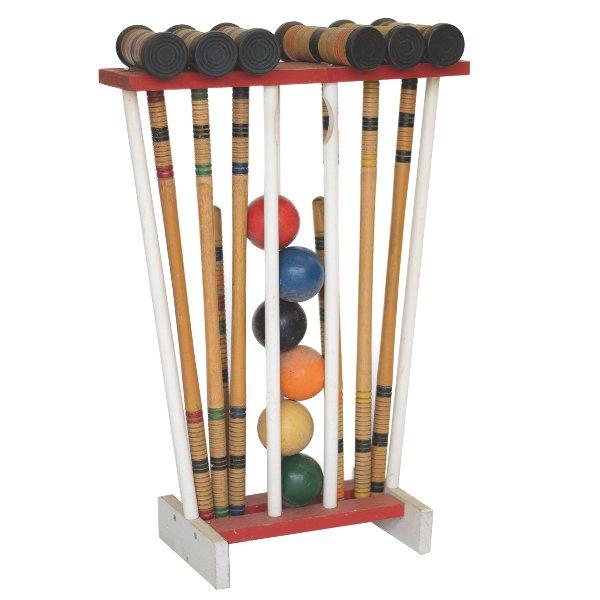 Croquet Set on Stand