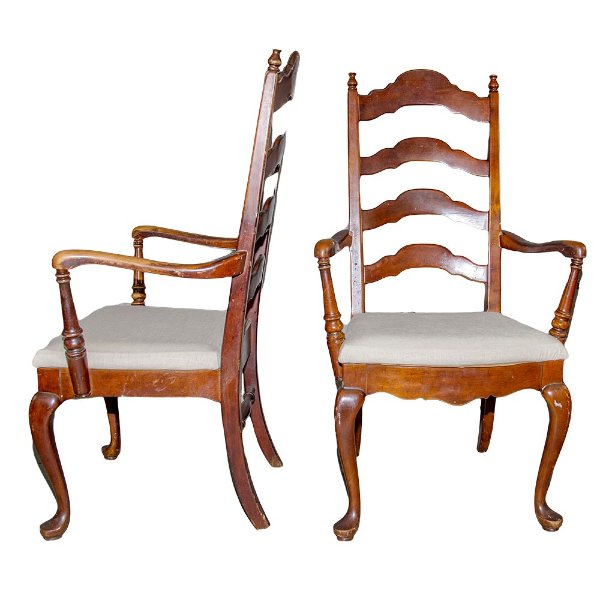 Myers Ladderback Chairs (pair)