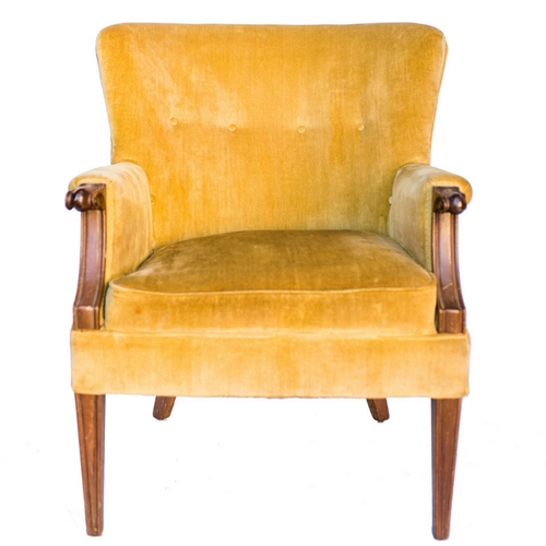 Eames Yellow Chair
