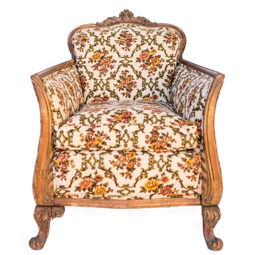 Abby Floral Chair
