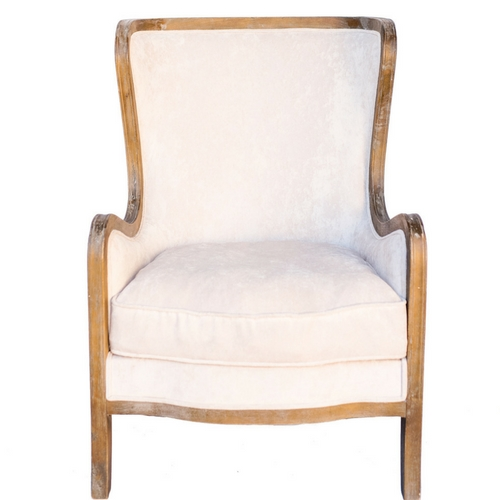 Caden Cream Wingback