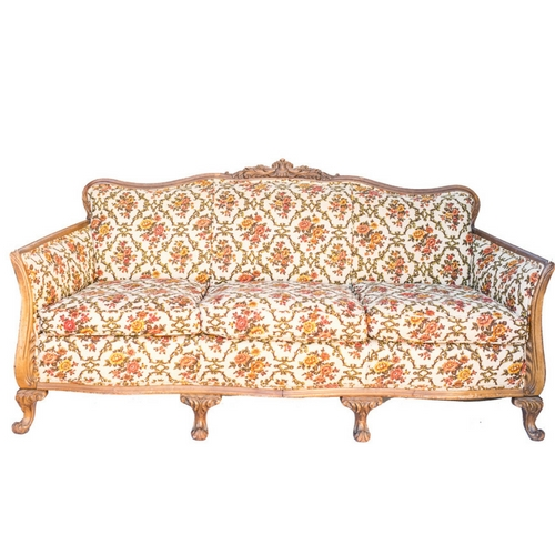 Abby Floral Sofa