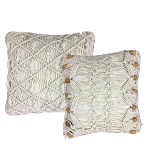 Macrame Pillow Set
