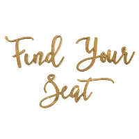 laser cut-out FIND YOUR SEAT