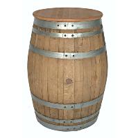 VIN barrel table (round)