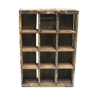 BOTTLE crate (wood)