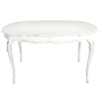 BLANCA oval table