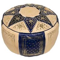 BLUE MARRAKESH pouf