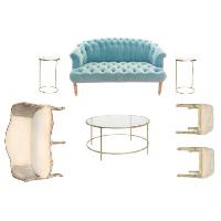 SOMETHING BLUE lounge
