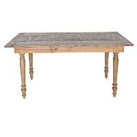 CARMINE LOW farm table
