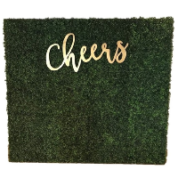 CHEERS GRASS wall (8x8)