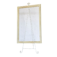CHICKEN WIRE frame (XL) with easel