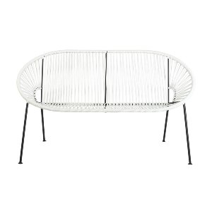 Paloma Loveseat White