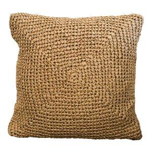 Woven Straw Pillow