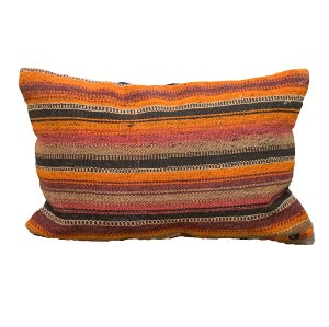 Orange Sunset Pillow