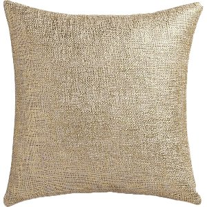 Simple Gold Pillow