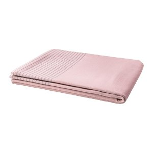 Pink Striped Cotton Linen