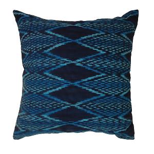 Electric Blue Casa Pillow