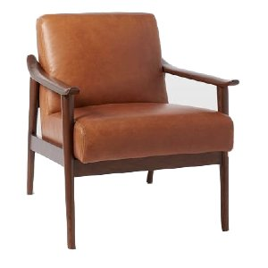 Moscow Leather Lounge Chair