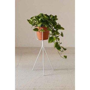 Tripod Plant Stand White