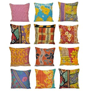 Kantha Pillows Small