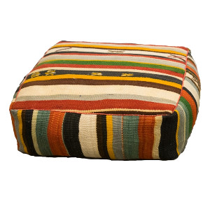 Multicolored Floor Cushion