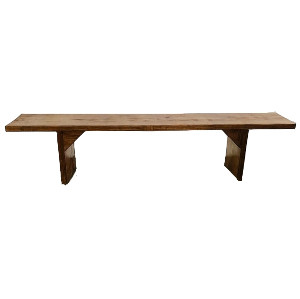 Simple Wood Bench 6ft