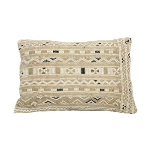 Neutral Tribal Pillow