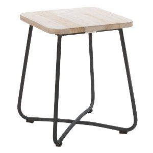 Shrub Side Table/Stool Black