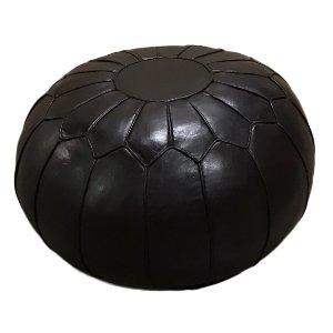 Midori Black Pouf