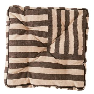 Striped Floor Cushion