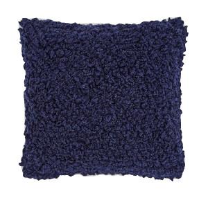 Blue Boucle Pillow