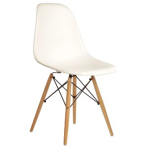 Shell Side Chairs White
