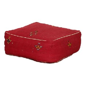 Red Floor Cushion