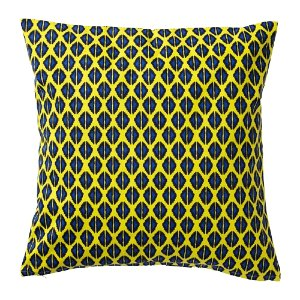 Yellow Psychedellic Pillow