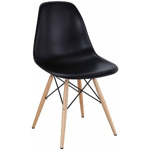 Shell Side Chair Black