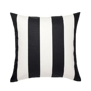 Black/White Stripes Pillow