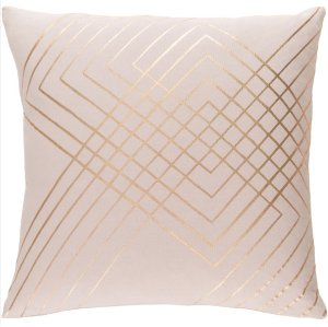 Pillow - Pink & Rose Gold Line